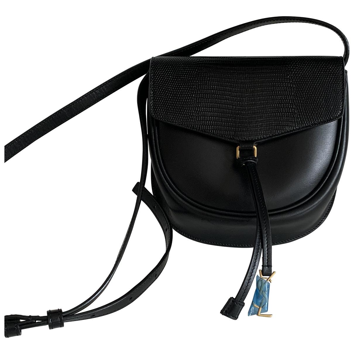 Saint Laurent Datcha Black Leather handbag for Women \N