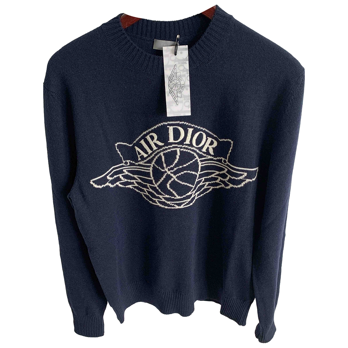 Jordan X Dior \N Navy Cashmere Knitwear & Sweatshirts for Men S International