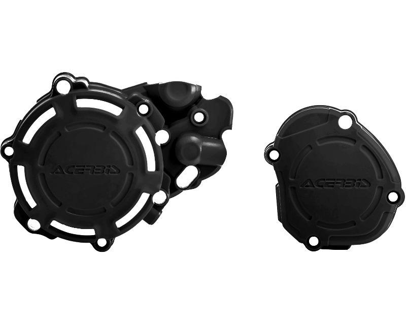 Acerbis 2780680001 X-Power Case Saver Kit Black Yamaha YZ125 05-20