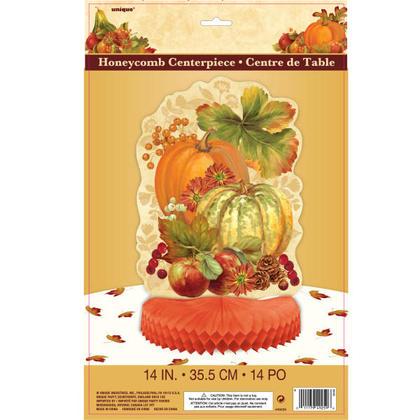 Thanksgiving Pumpkin Harvest Fall Centerpiece Decoration, 14