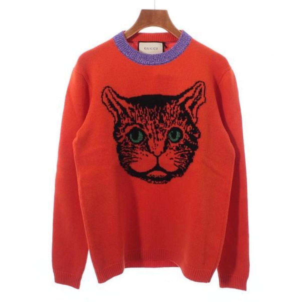 Gucci \N Orange Wool Knitwear for Women S International