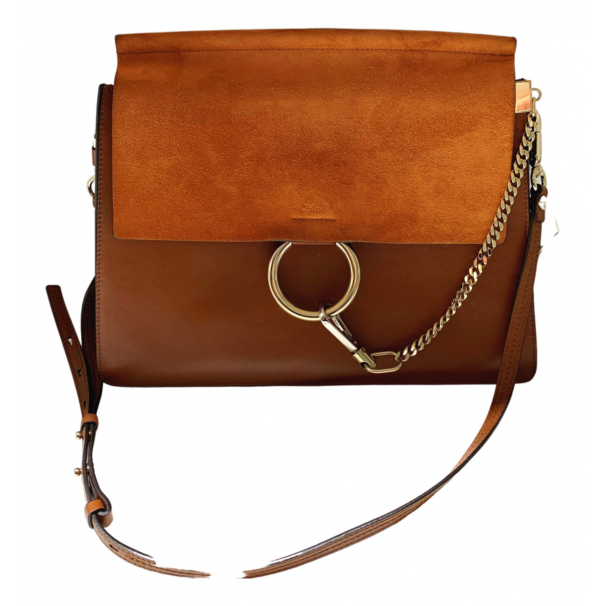 Chloé Faye Camel Leather handbag for Women \N