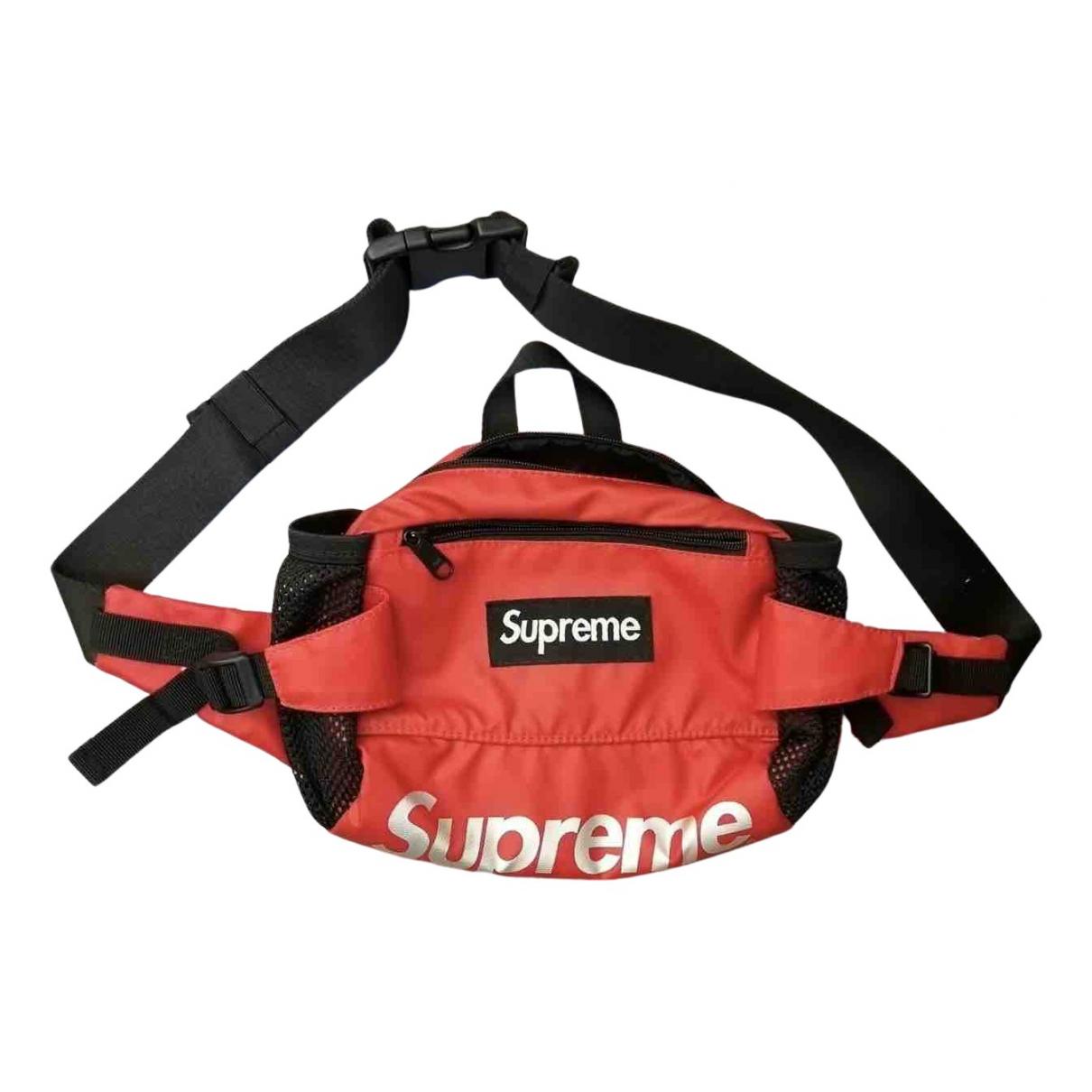 Supreme X Comme Des Garçons N Red bag for Men N