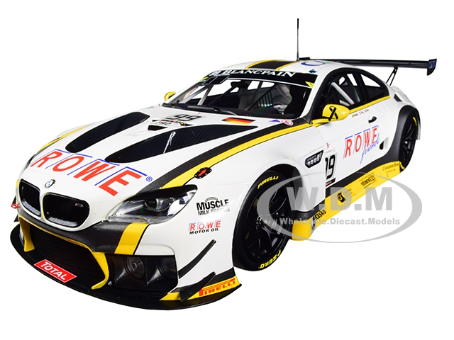 BMW M6 GT3 99 Martin / Eng / Sims Winners 24 Hours SPA 2016 (Rowe Racing) Limited Edition to 400 pieces Worldwide 1/18 Diecast Model Car by Minichamp