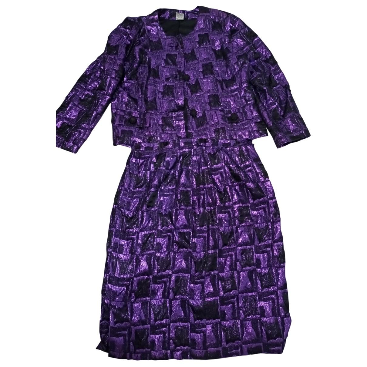 Non Signé / Unsigned \N Multicolour Cotton jacket for Women 42 FR