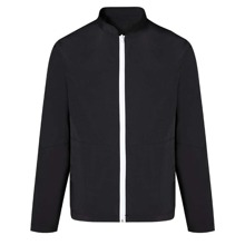Men Solid Zip Up Jacket