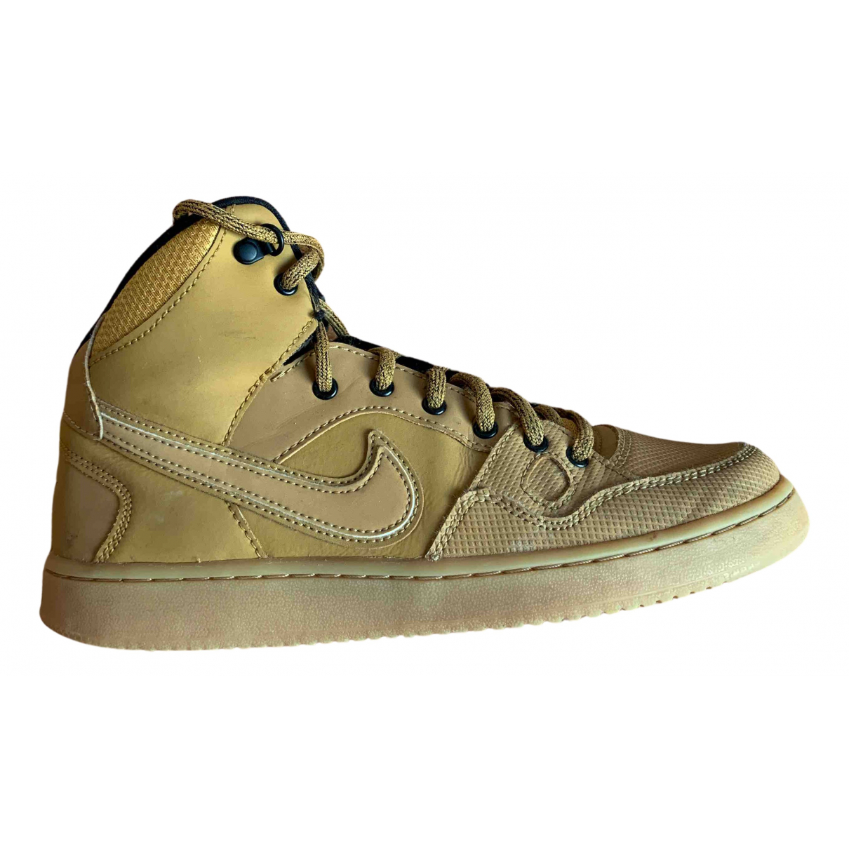 Deportivas Lunar Force 1  de Cuero Nike