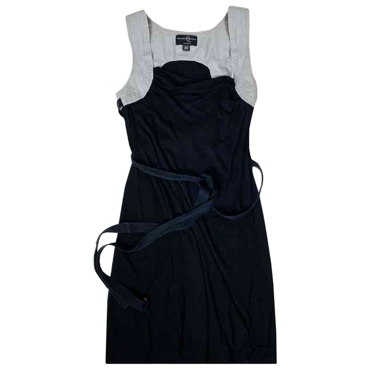 Alexander Mcqueen \N Black Cotton dress for Women 34 FR