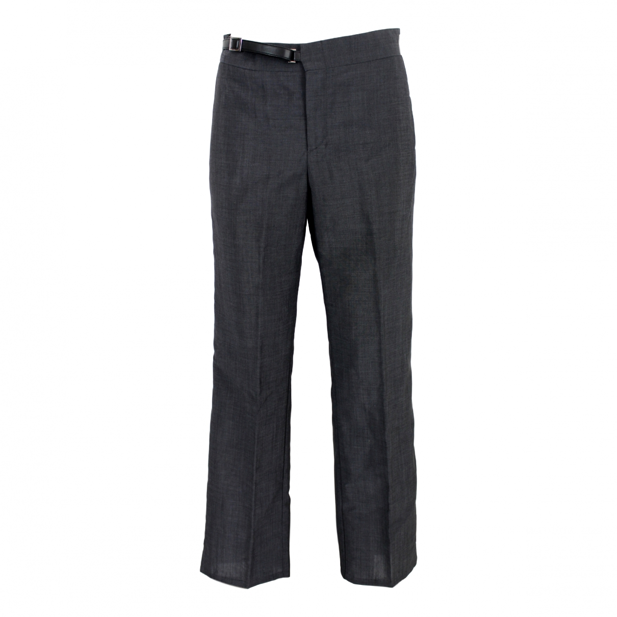 Gucci \N Grey Wool Trousers for Women 42 IT
