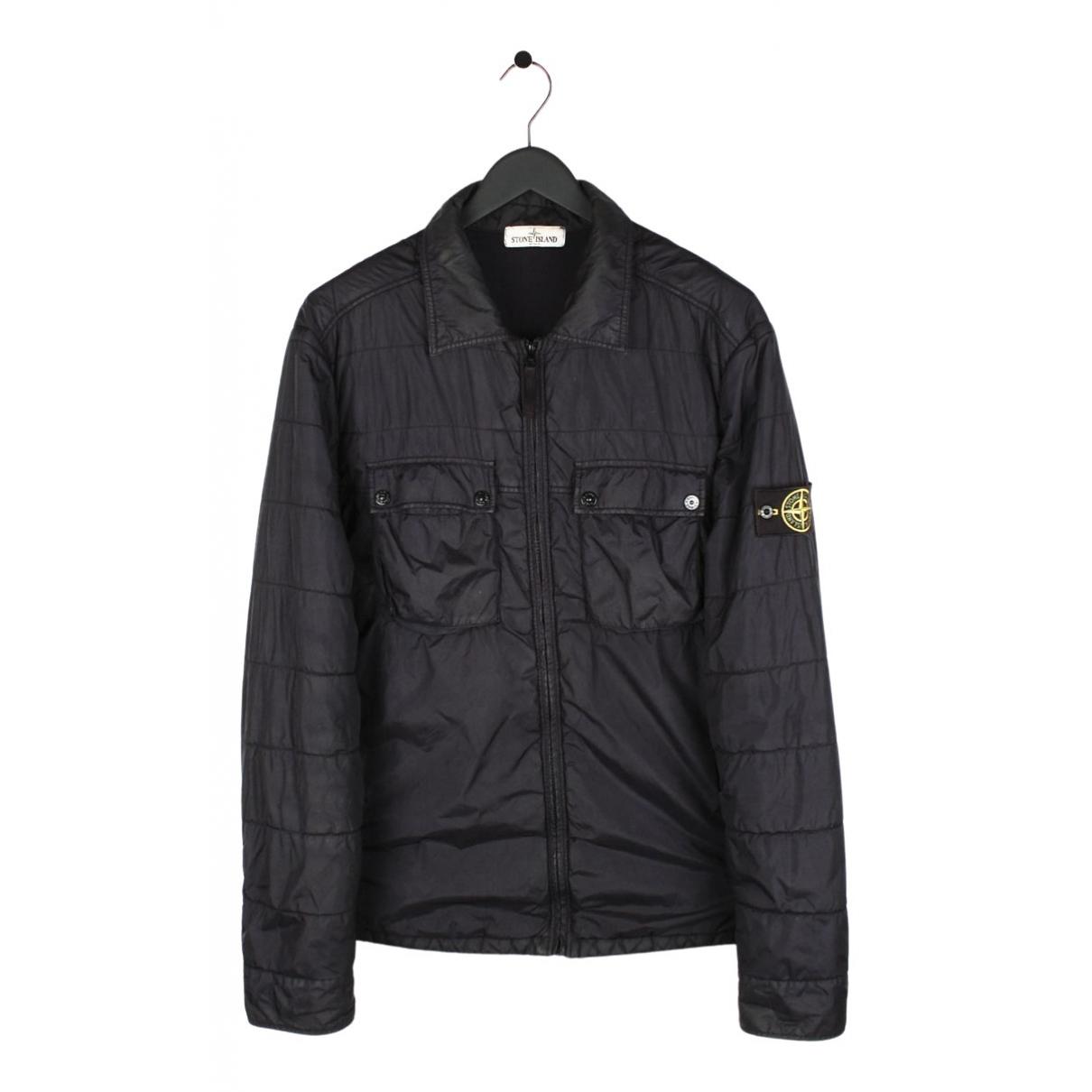 Stone Island N Black jacket  for Men XXL International