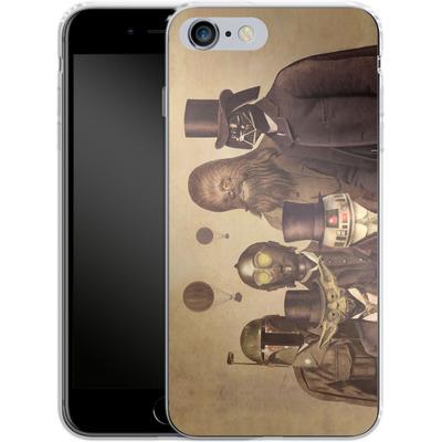 Apple iPhone 6 Plus Silikon Handyhuelle - Victorian Wars von Terry Fan