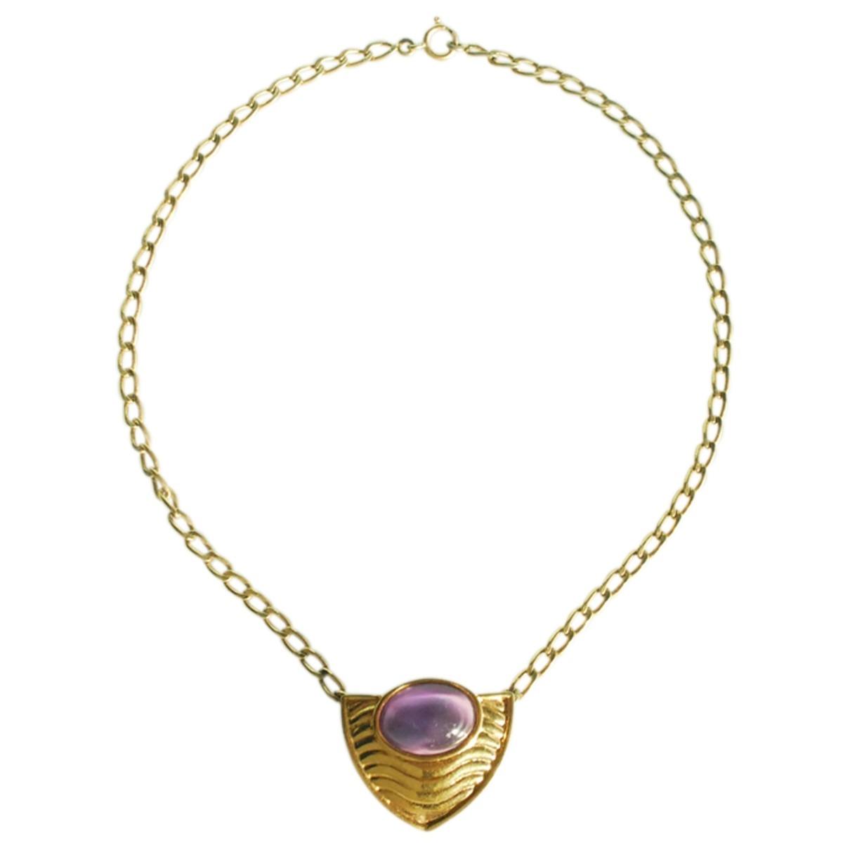 Lanvin \N Gold Metal necklace for Women \N