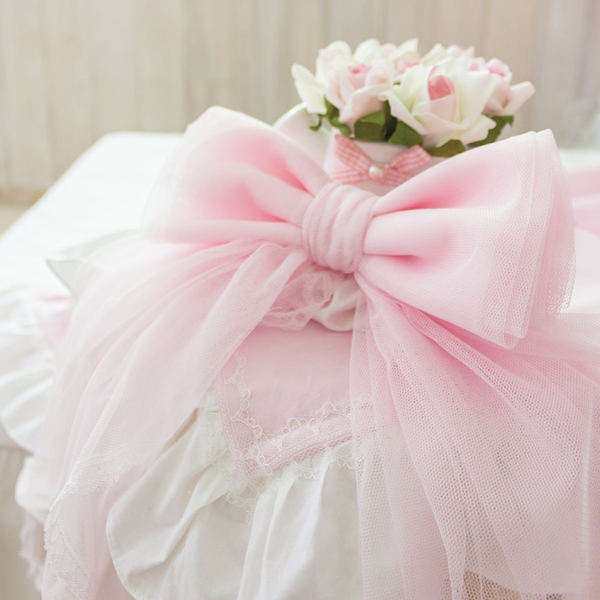 Lovely Lace Bowknot Pattern Decorative Curtain Tiebacks