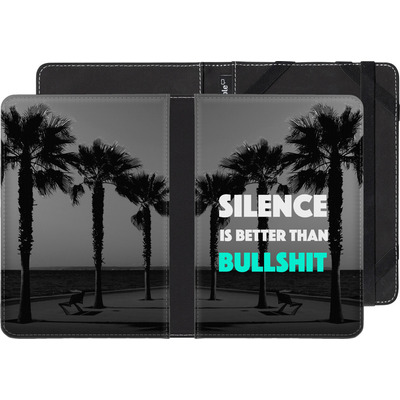 Amazon Kindle Touch eBook Reader Huelle - Silence Is Better von Statements