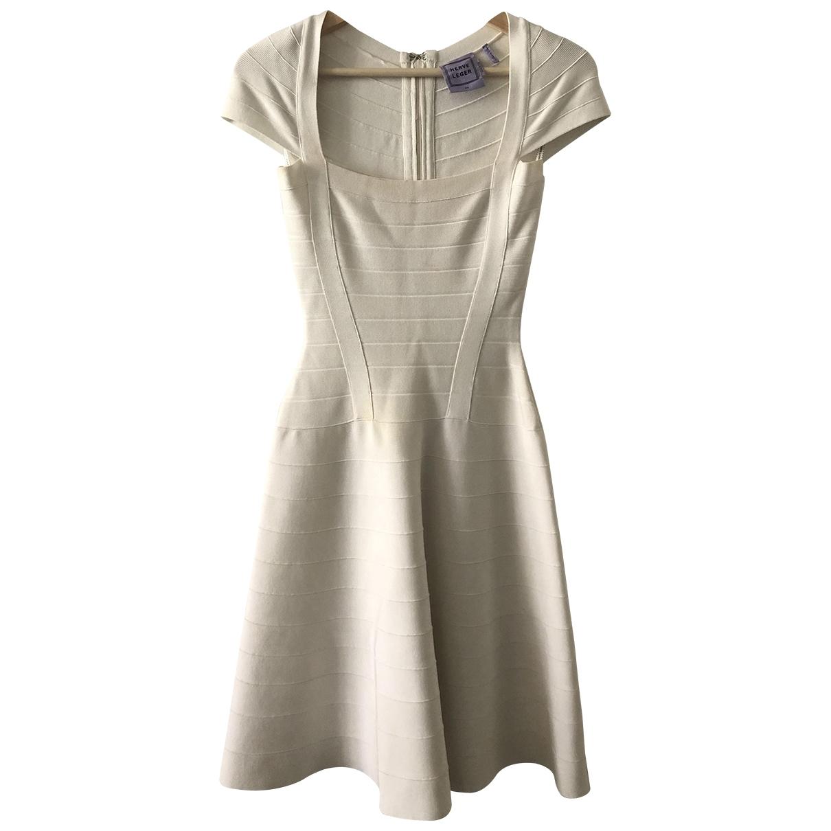 Herve Leger - Robe   pour femme - blanc