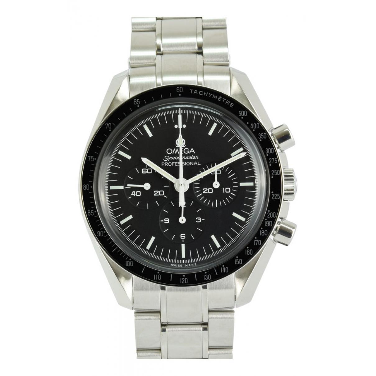 Omega Speedmaster Uhr in  Schwarz Stahl