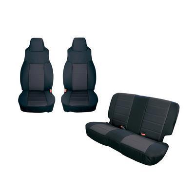 Rugged Ridge Neoprene Seat Cover Kit (Black) - 13291.01