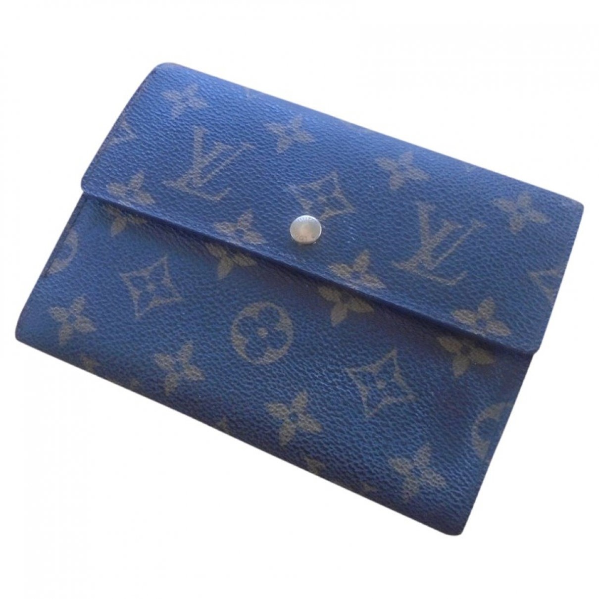Louis Vuitton \N Brown Cloth wallet for Women \N