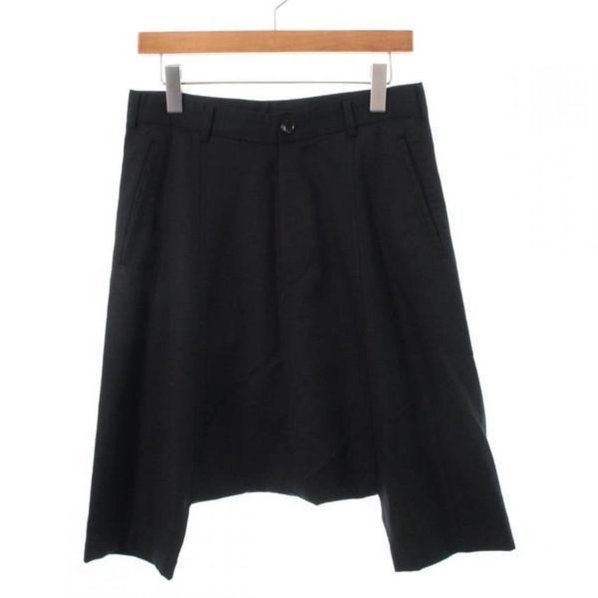 Comme Des Garcons - Short   pour femme en laine - noir