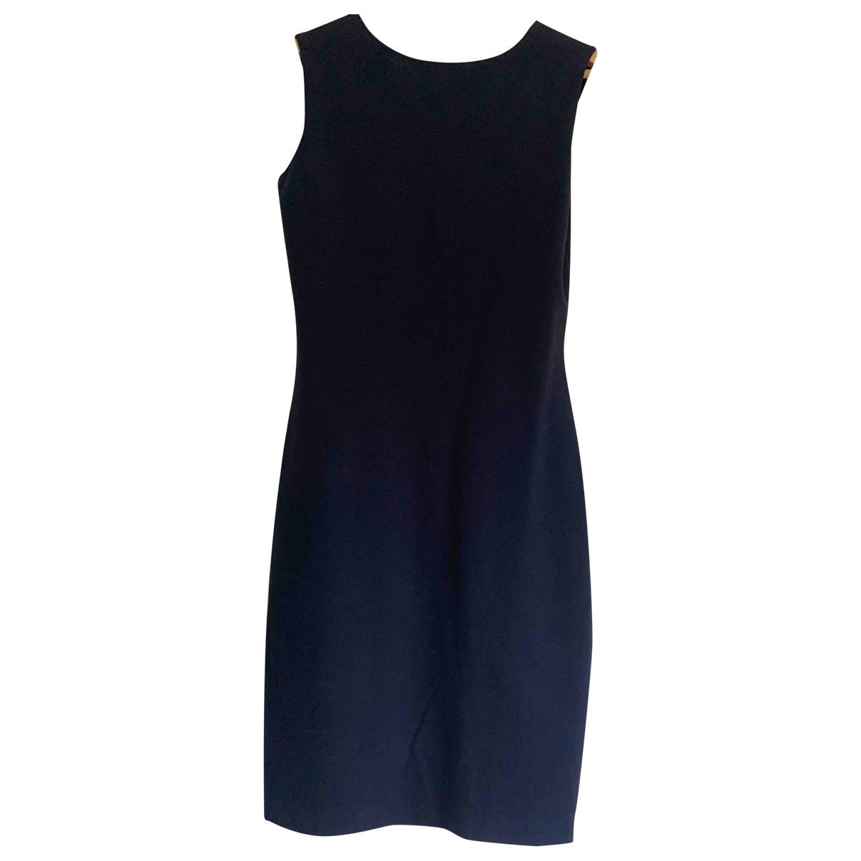 Ralph Lauren \N Kleid in  Blau Viskose