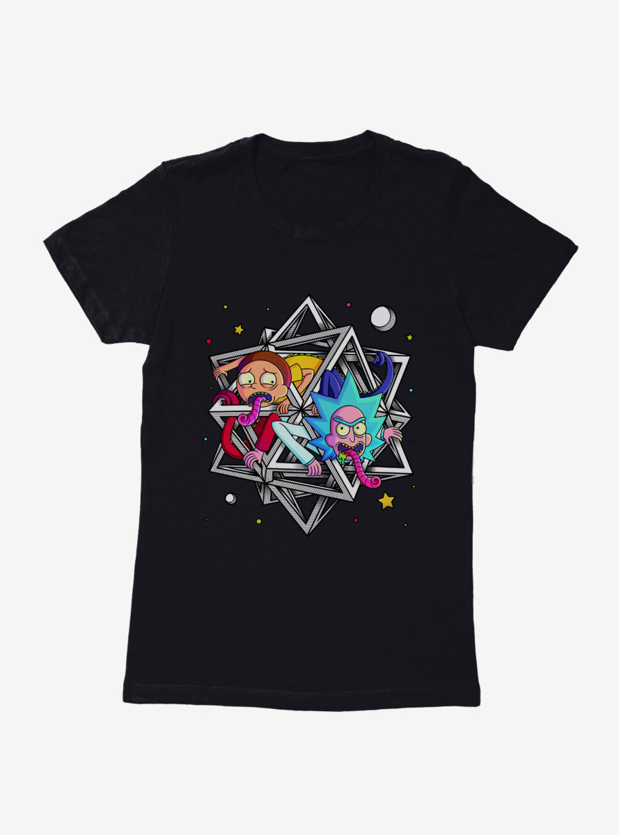 Rick And Morty Polyhedream Womens T-Shirt