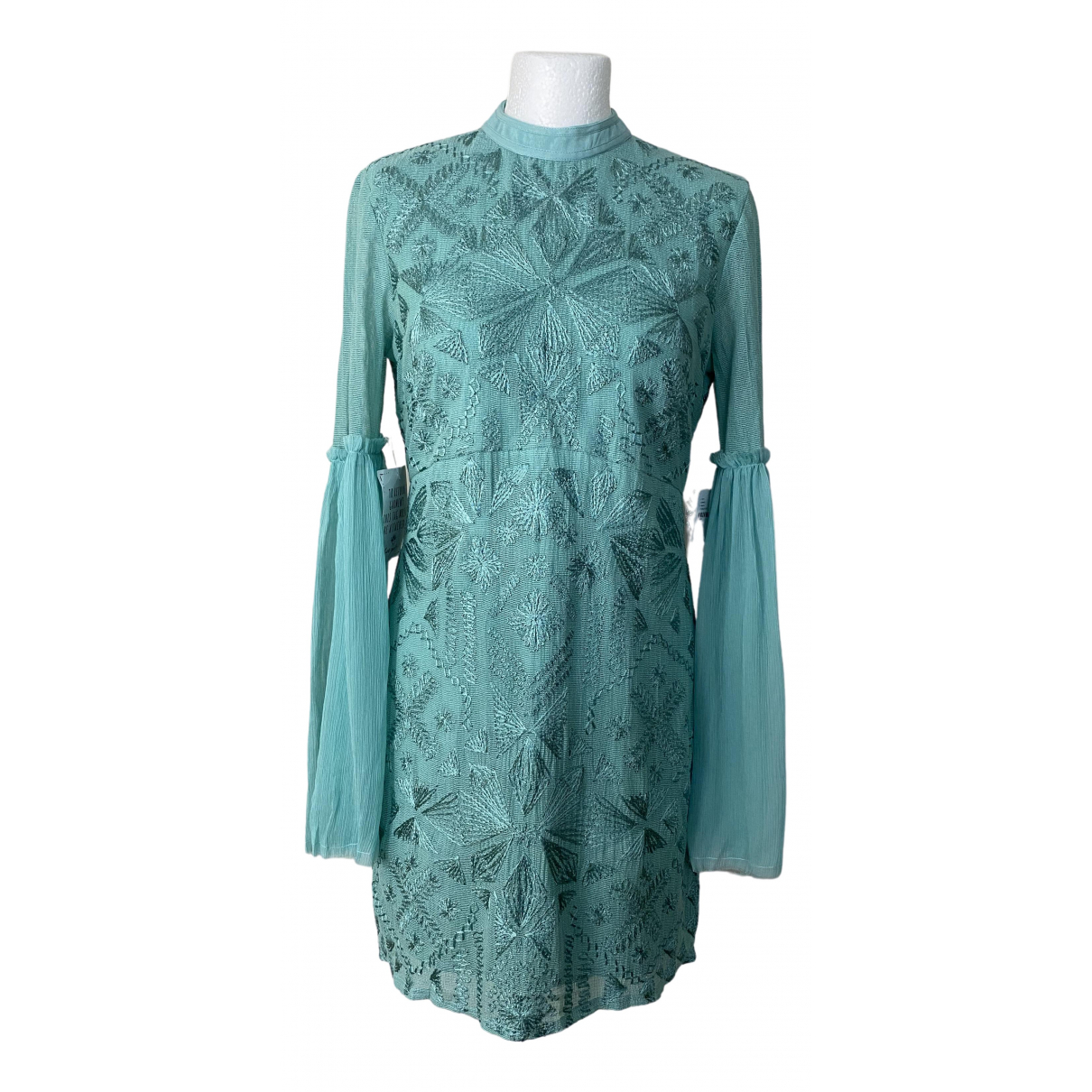 Free People \N Blue dress for Women 12 UK