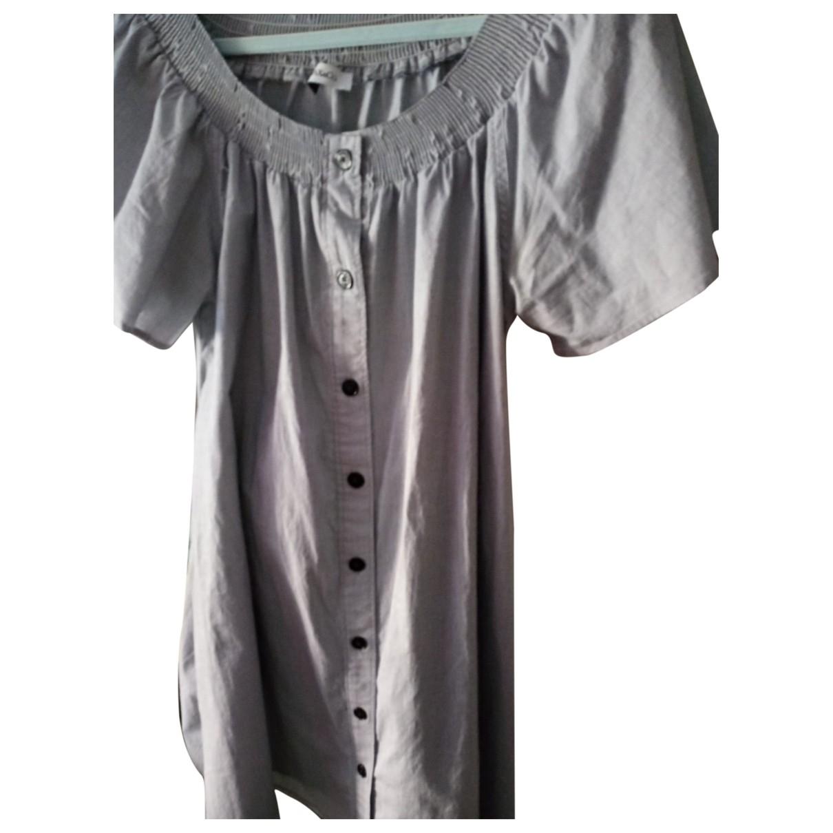 Max & Co - Robe   pour femme en coton - gris