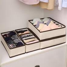 4 piezas set caja de ropa interior