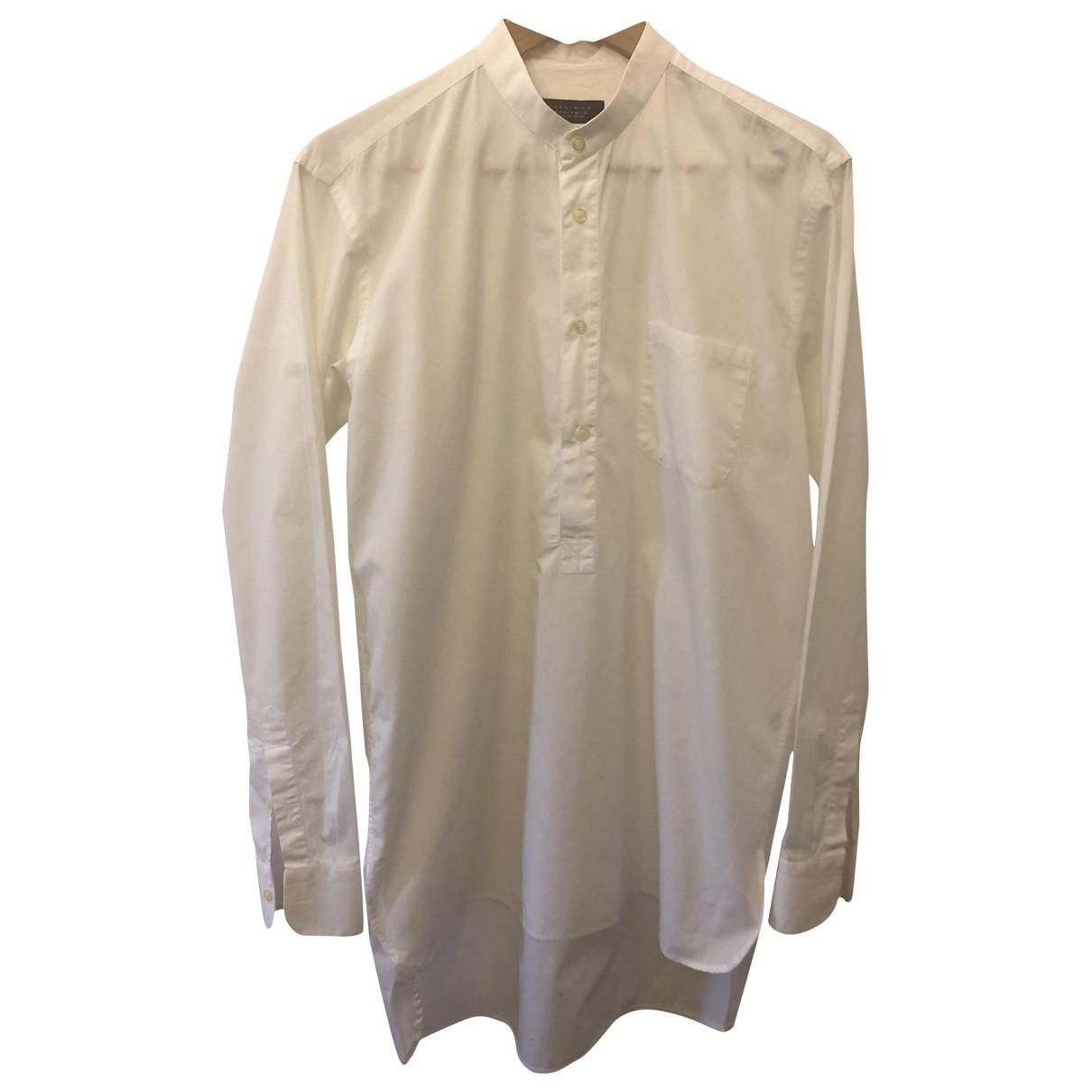 Zara \N Hemden in  Weiss Baumwolle