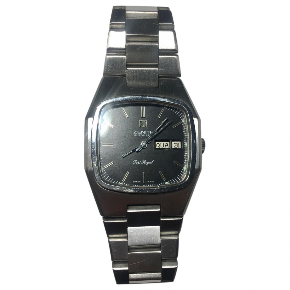 Zenith Port Royal  Grey Steel watch for Men \N