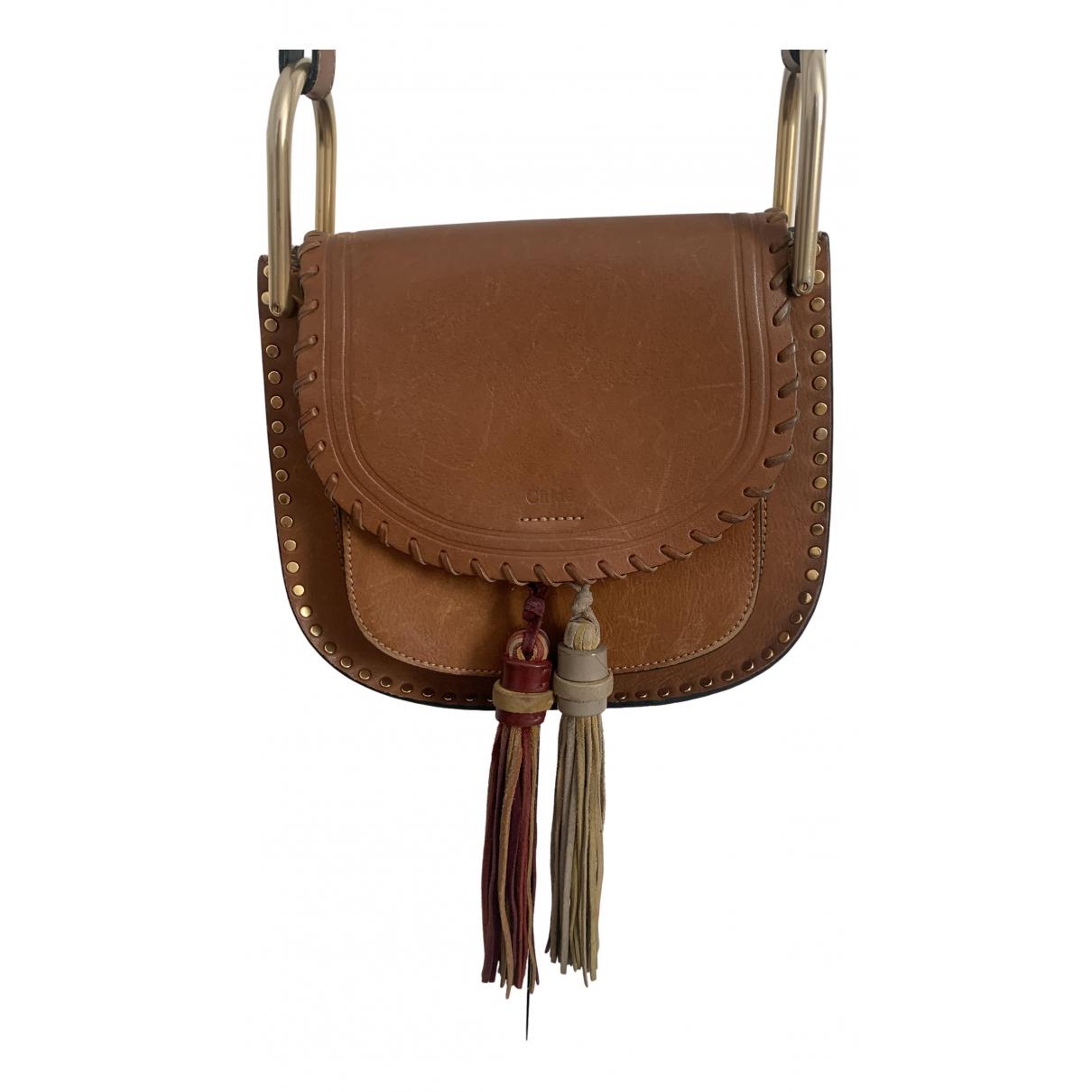 Chloe Hudson Handtasche in  Braun Leder