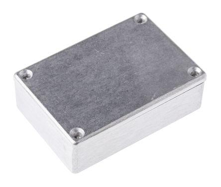 Deltron 480, Natural Die Cast Aluminium Enclosure, IP66, IP67, IP68, Shielded, 80 x 55 x 26mm