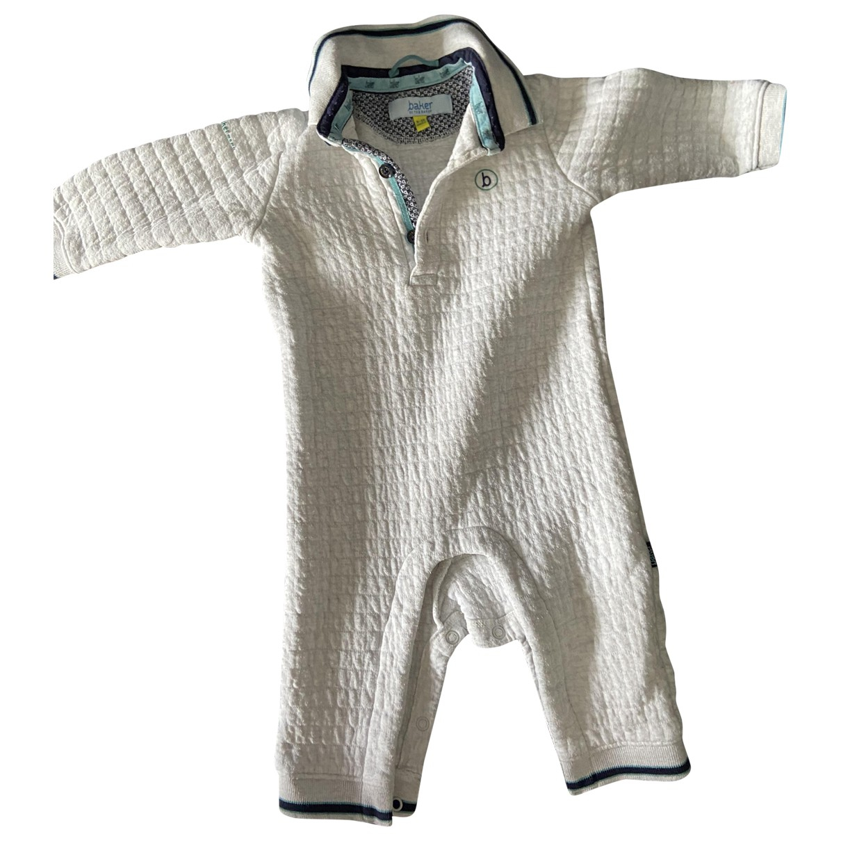 Ted Baker \N Grey Cotton Outfits for Kids 12 months - until 29 inches UK