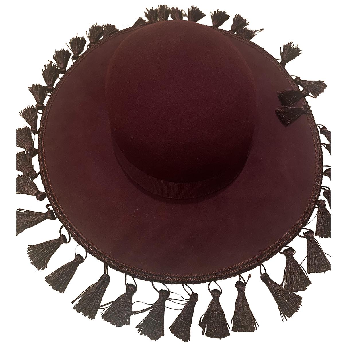 Brixton - Chapeau   pour femme en autre - bordeaux