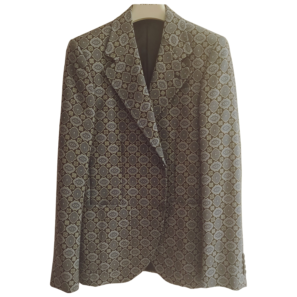Prada \N Multicolour Wool jacket  for Men 48 IT