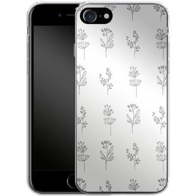 Apple iPhone 8 Silikon Handyhuelle - Botanic Studies von Lucy Bohr