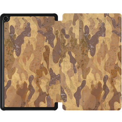 Amazon Fire 7 (2017) Tablet Smart Case - Camo Bark von caseable Designs