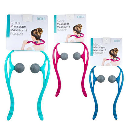 Massage manuel de muscle de soi de massager de cou, 1 couleur aléatoire par paquet