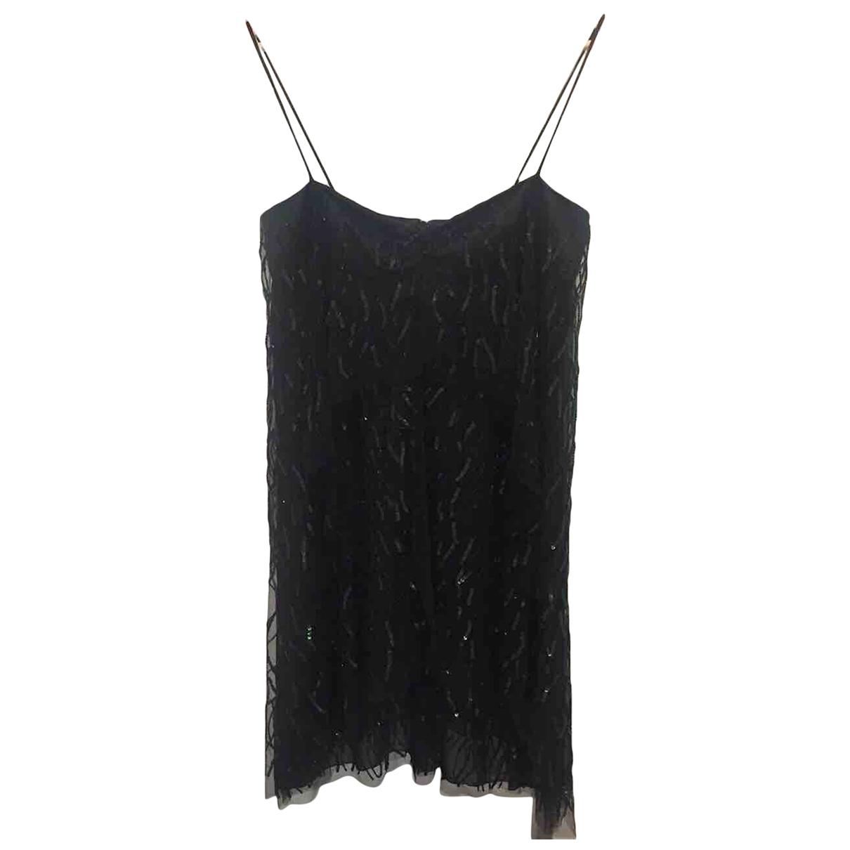 Emporio Armani \N Black Glitter dress for Women 40 IT