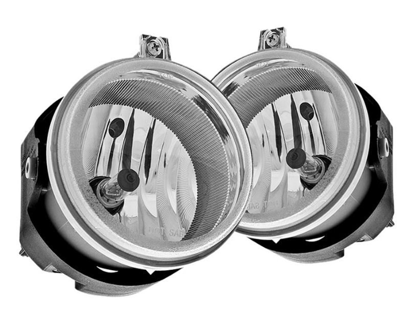 Winjet WJ30-0201-09 Clear OEM Style Fog Lights Chrysler Town and Country 05-09