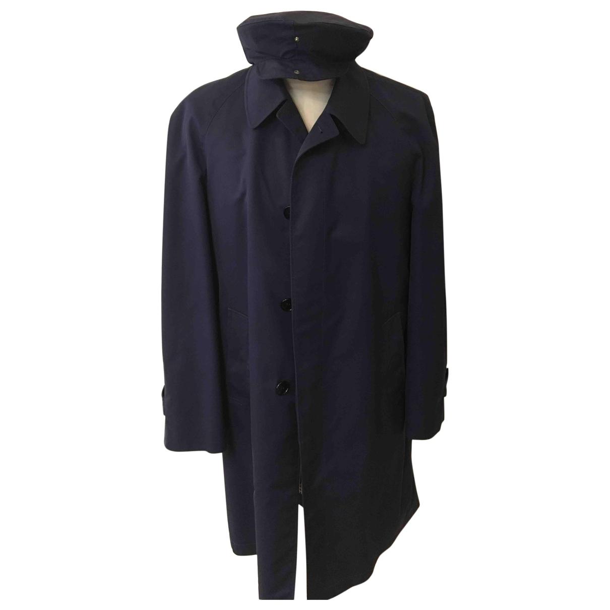 - Manteau   pour homme en coton - bleu