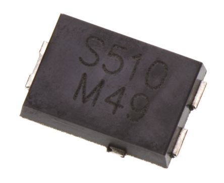 Vishay 100V 5A, Schottky Diode, 3-Pin TO-277A SS5P10-M3/86A (5)