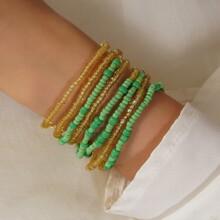 Beaded Layered Bracelet