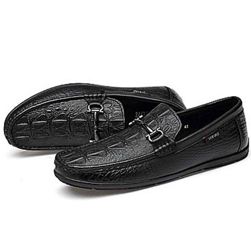 Ericdress Plain Low-Cut Upper Slip-On Round Toe Men's Loafers