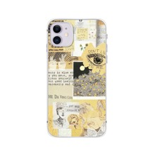 Floral & Figure Collage Phone Case