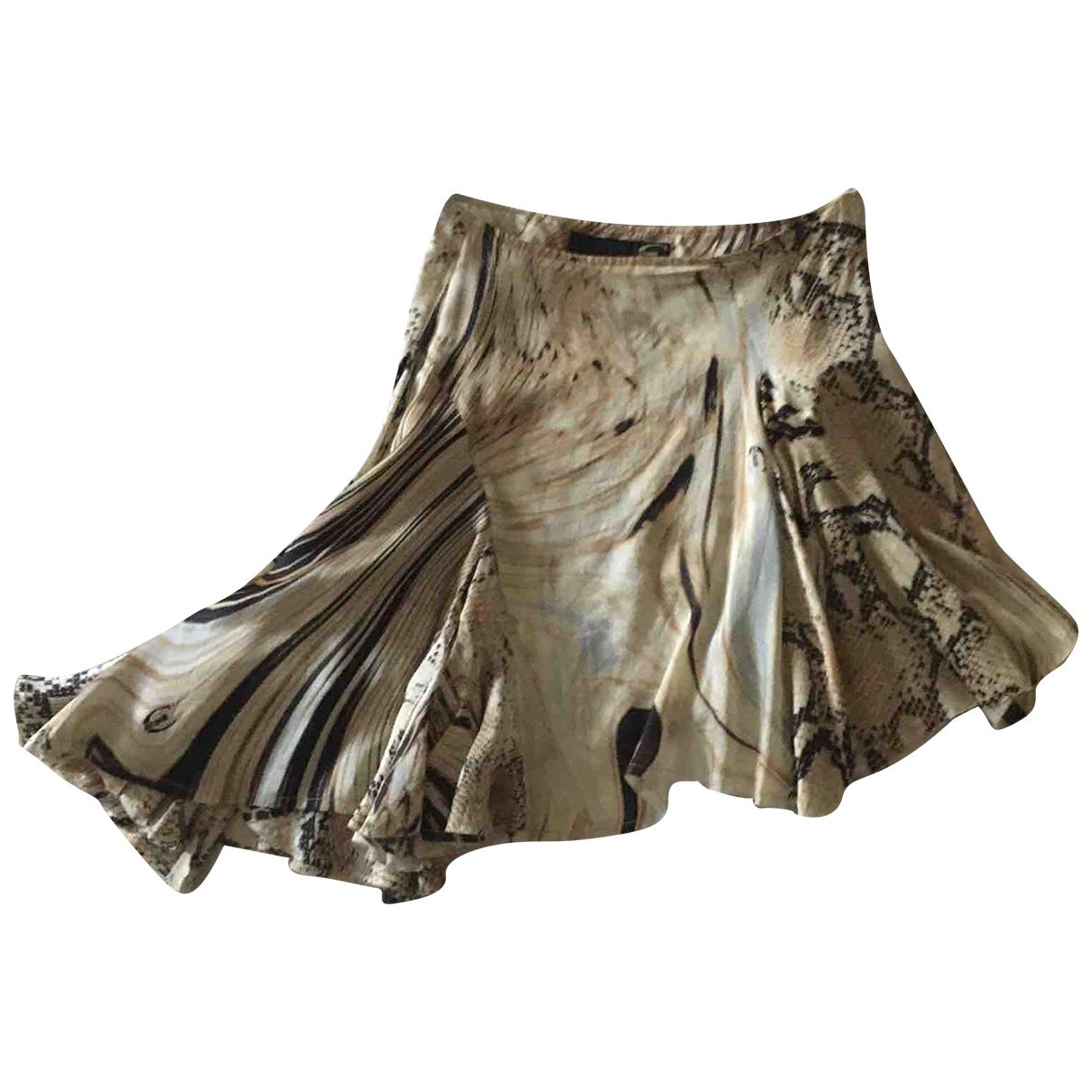 Mini falda de Seda Just Cavalli