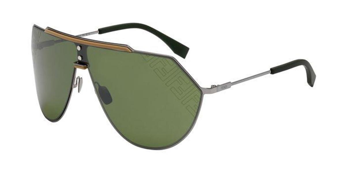 Fendi FF M0075/S 6LB/T4 Mens Sunglasses Grey Size 99