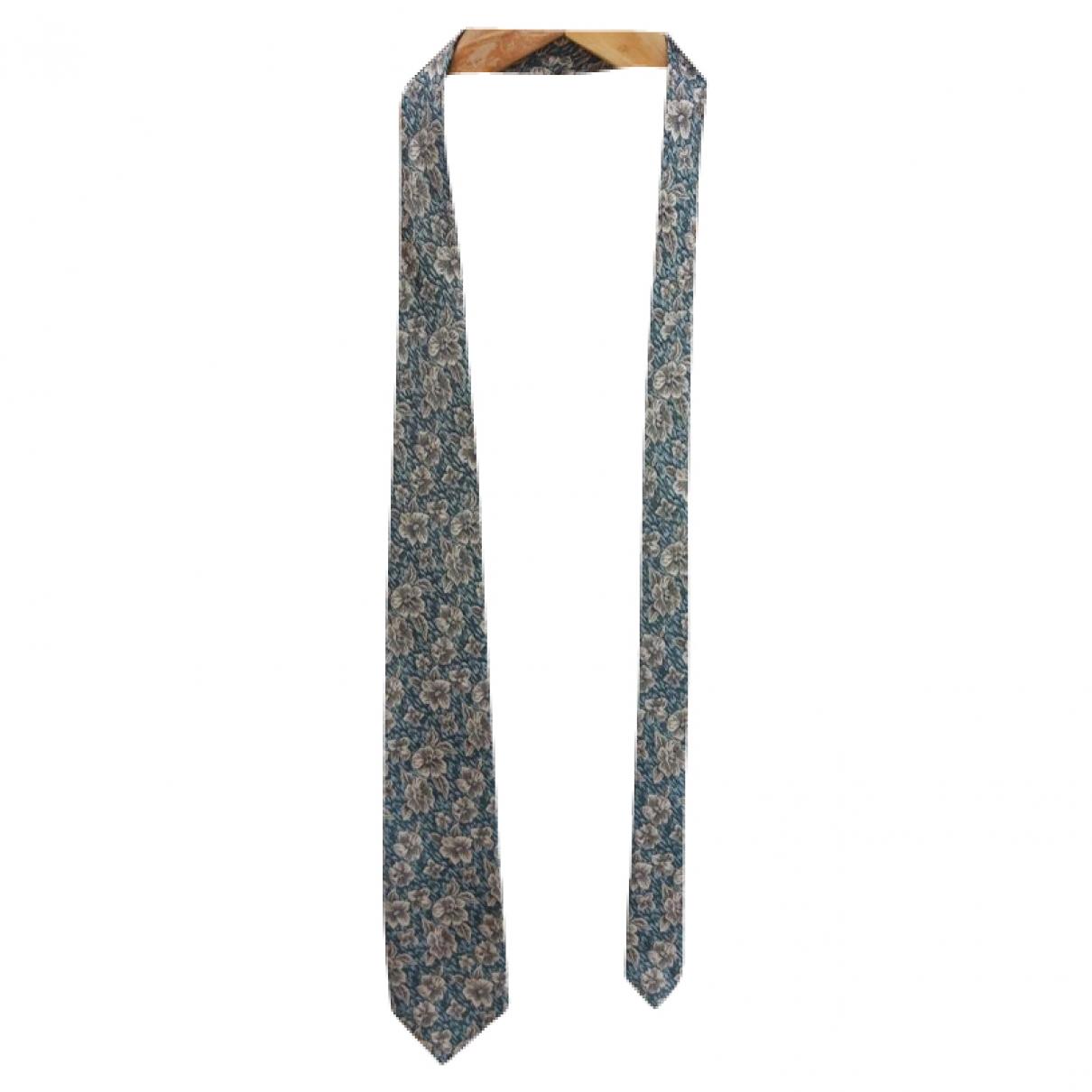 Balenciaga - Cravates   pour homme en soie - vert