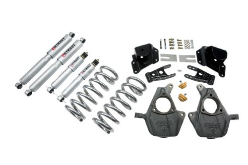 Belltech 949SP 3inch Front 4inch Rear Lowering Kit w/ SP Shocks Chevrolet Silverado | GMC Sierra Std Cab 1999-2006