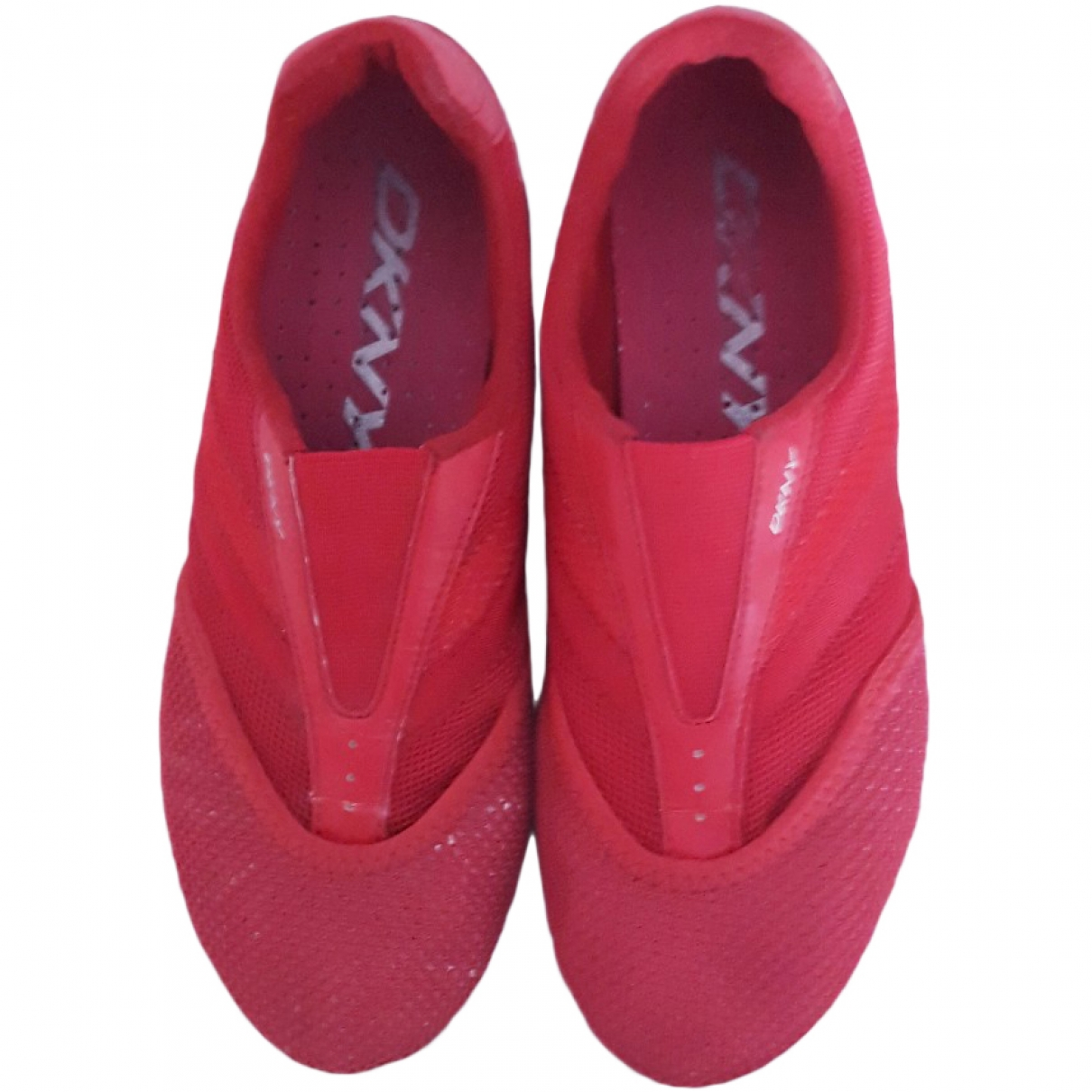Dkny \N Red Fur Trainers for Women 36.5 EU